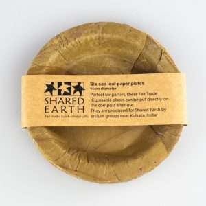 SHARED EARTH Leaf Plates