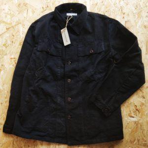 REWORKED348 – Blu Black Worker Jacket