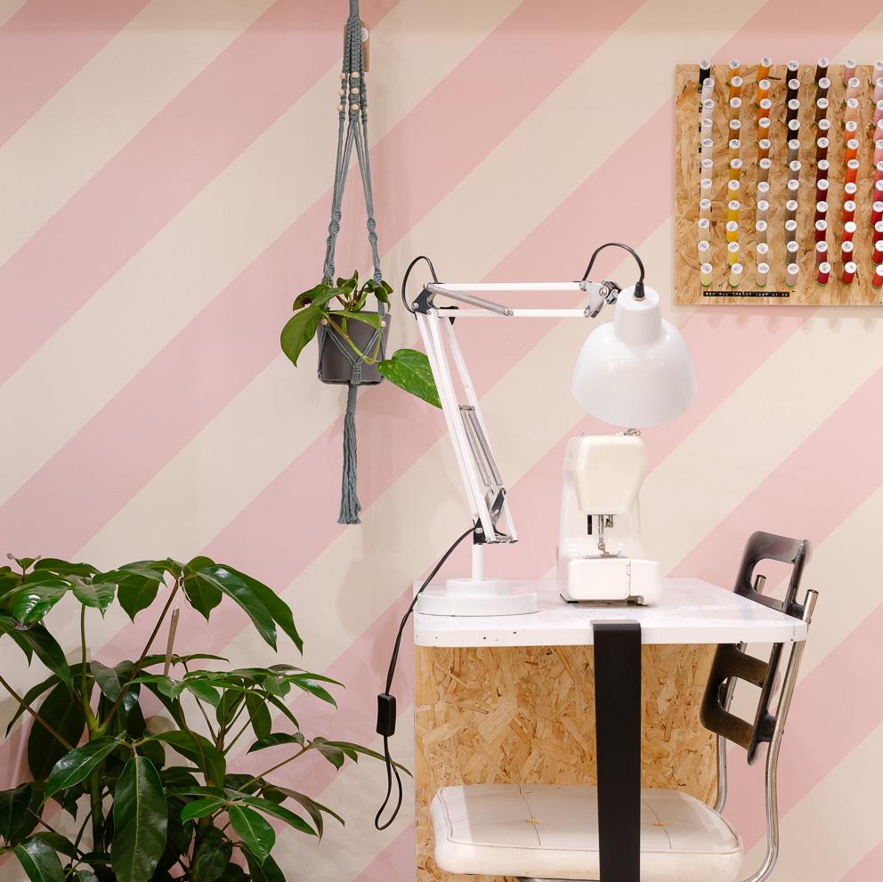sewing machine plants