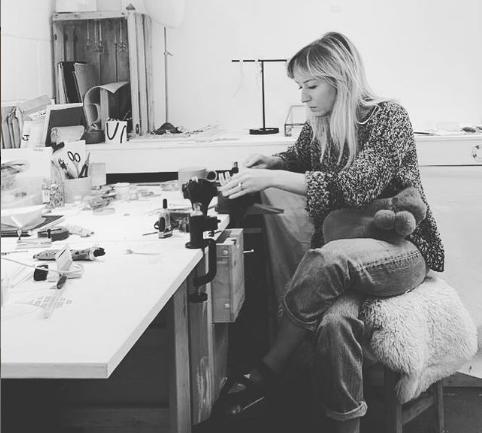 Juliet barratt in her studio